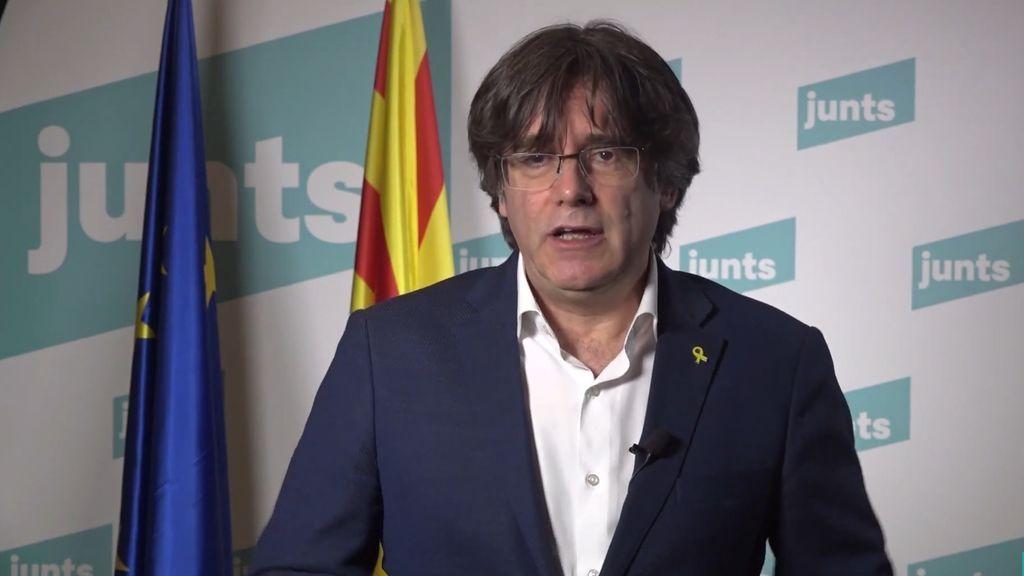 """Puigdemont apoya una movilizaciones convocada a favor """"los derechos"""" de los presos de ETA"""