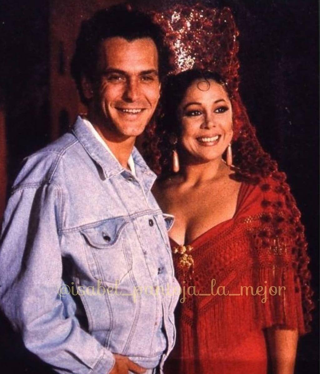 José Coronado e Isabel Pantoja, en 'Yo soy esa'