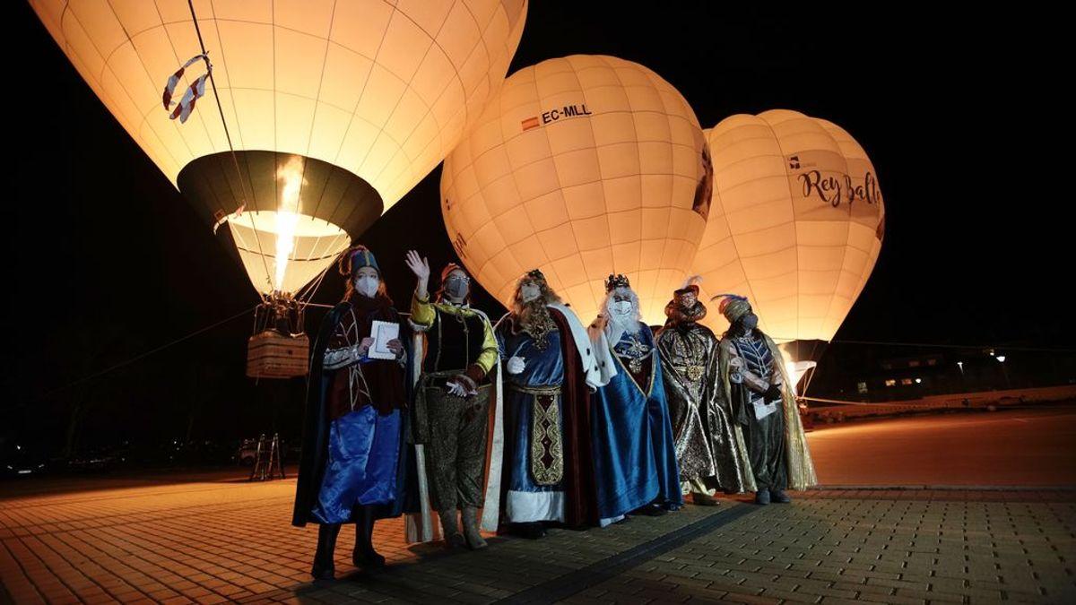 Los Reyes Magos reinventan sus cabalgatas: tierra, mar, aire e internet