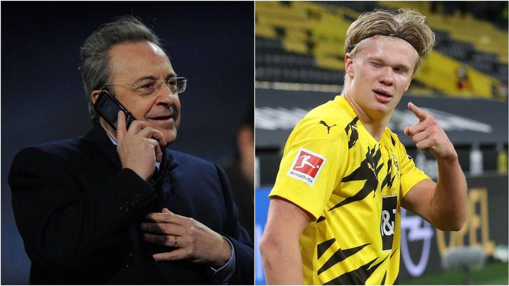 """El presidente del Dortmund sobre Haaland: """"Solo irá a un club aún más grande. Un ejemplo: el Real Madrid"""""""