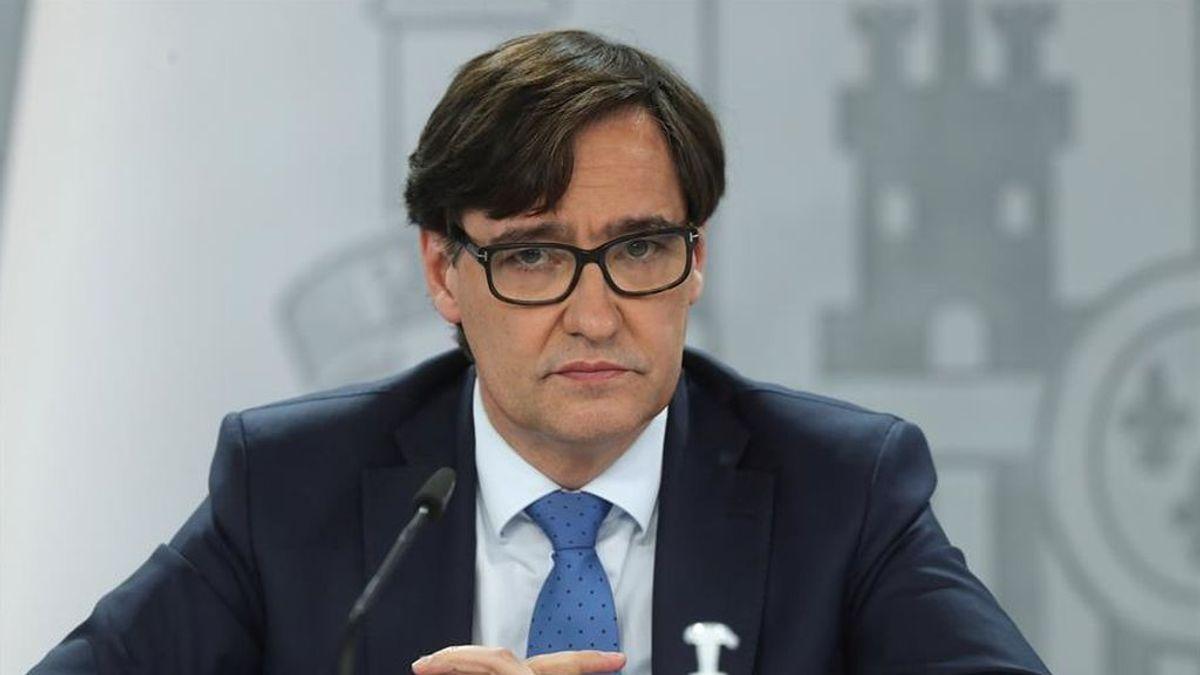 Salvador Illa anuncia que ya han sido administradas 82.834 dosis de la vacuna de Pfizer en toda España