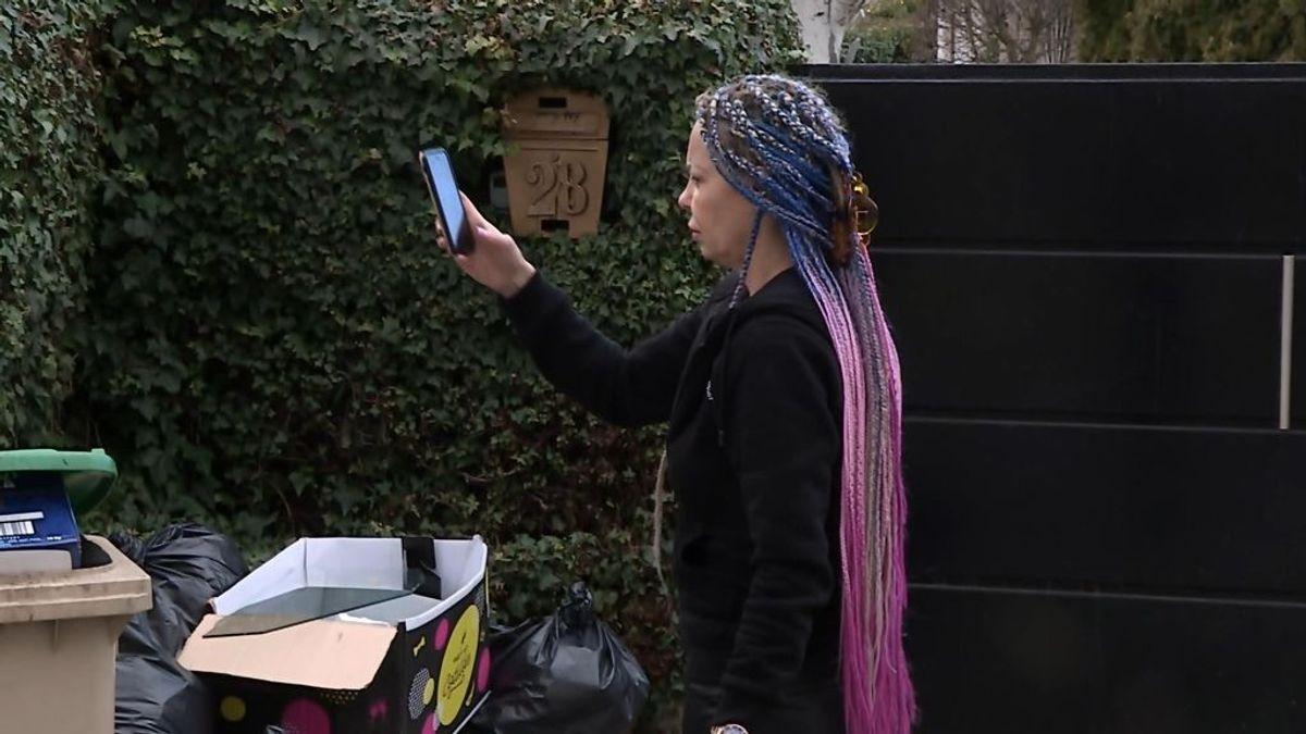 Leticia Sabater saca fotos de la basura tras la fiesta en su chalet