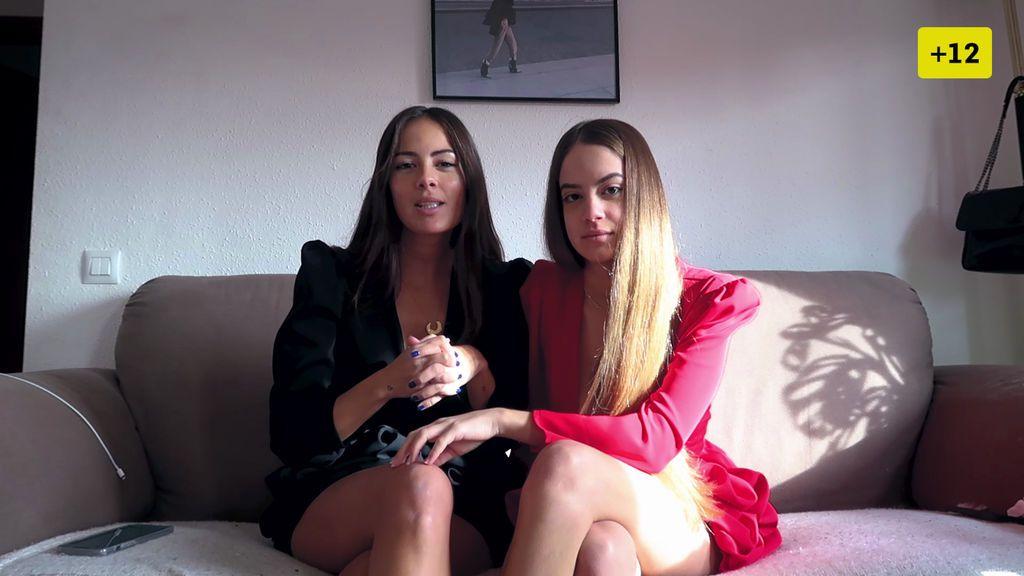 Melyssa y su hermana imitan a otras influencers y copian sus posados en una sesión (1/2)