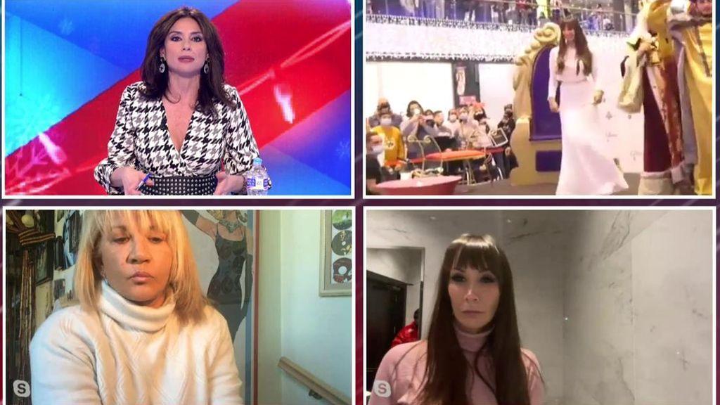 """El rifirrafe entre Fani y una periodista de Marbella tras el polémico acto en un centro comercial: """"No mientas"""""""