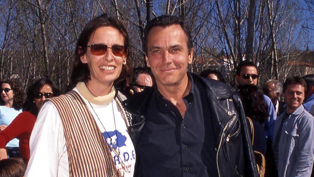 José Coronado y Paola Dominguín, en 2003