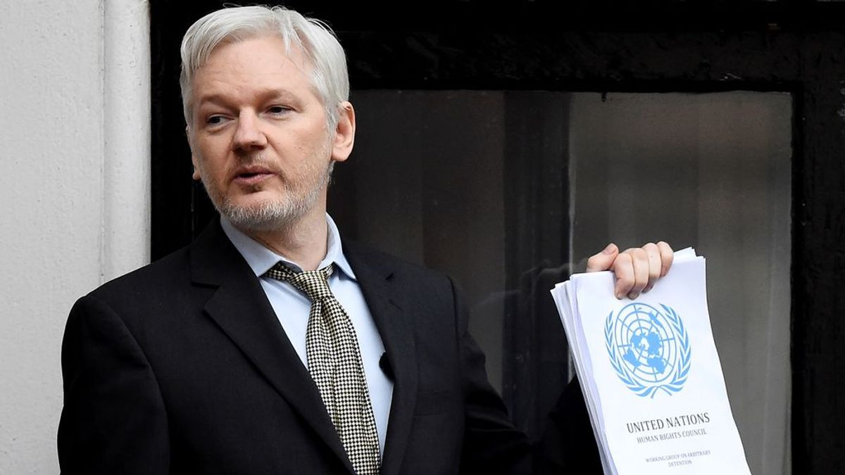 El fundador de WikiLeaks, Julian Assange, no puede ser extraditado a Estados Unidos