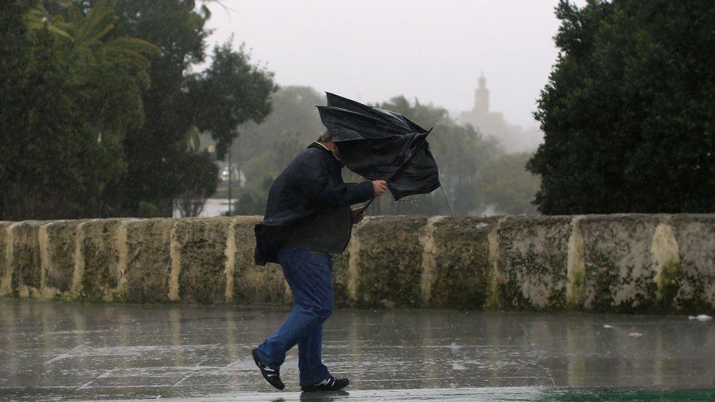 Andalucía, Canarias y Ceuta, en riesgo por las lluvias: los acumulados excederán los 150 litros/m2