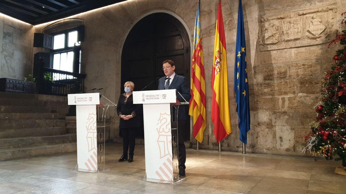Ximo Puig y Ana Barceló