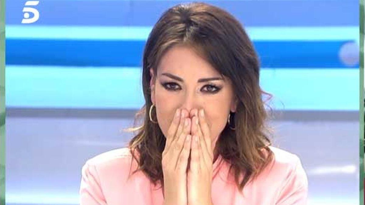 Patricia Pardo, sorprendida por su hermana en el programa de Ana Rosa