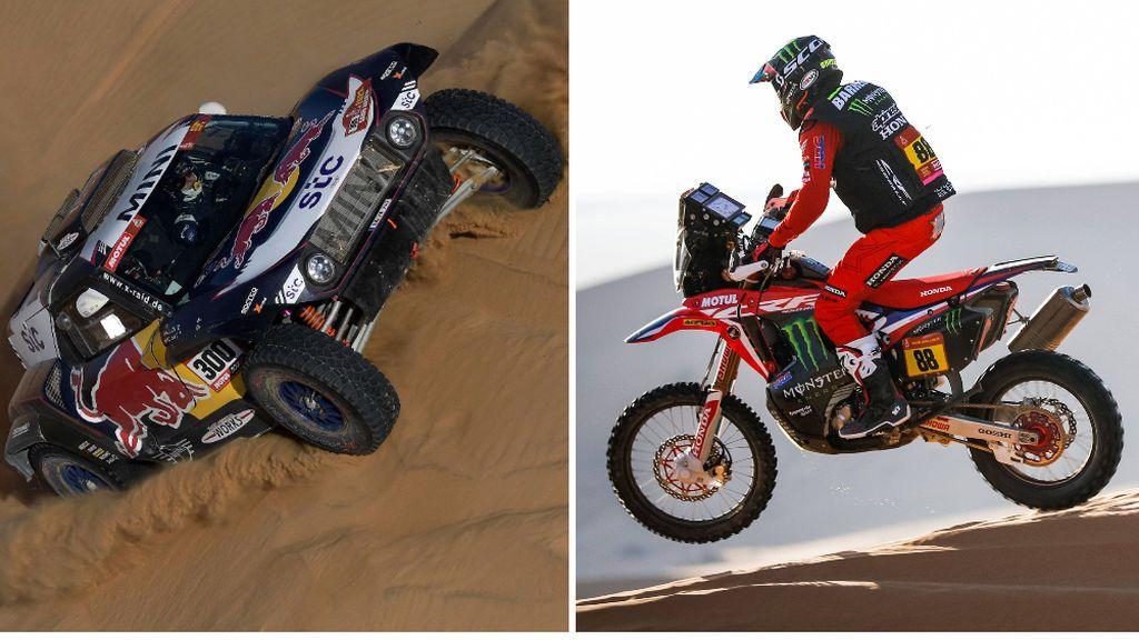 Carlos Sainz y Joan Barreda tropiezan en la tercera etapa y se alejan de la general del Dakar