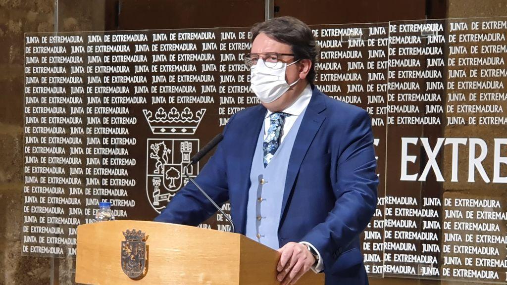 Consejero de Sanidad de la Junta de Extremadura