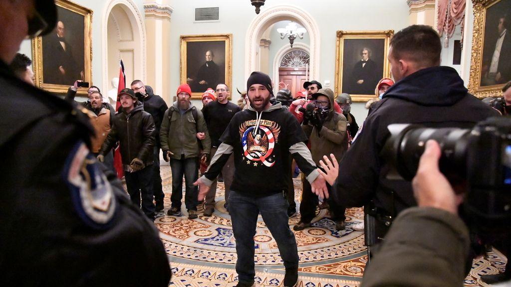 El asalto al Capitolio de EEUU, en IMÁGENES