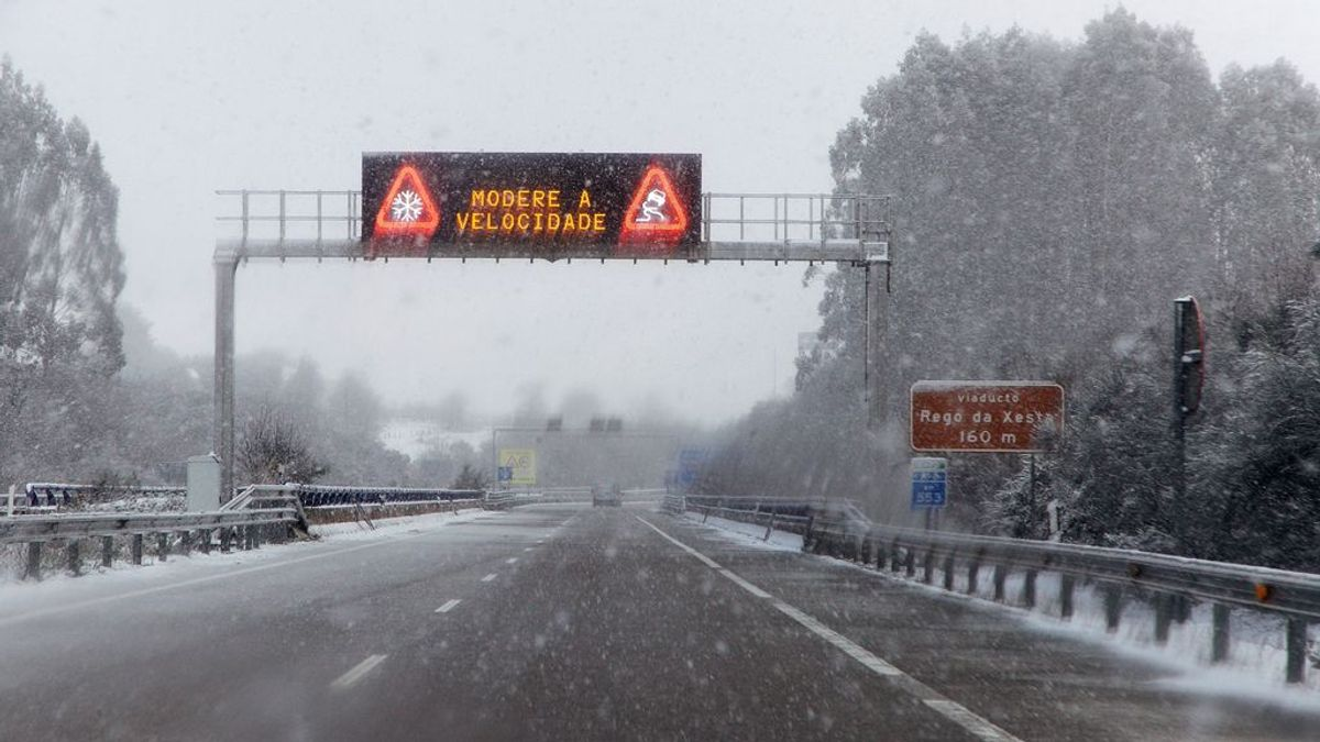 Todos los medios preparados para hacer frente a una nevada de récord