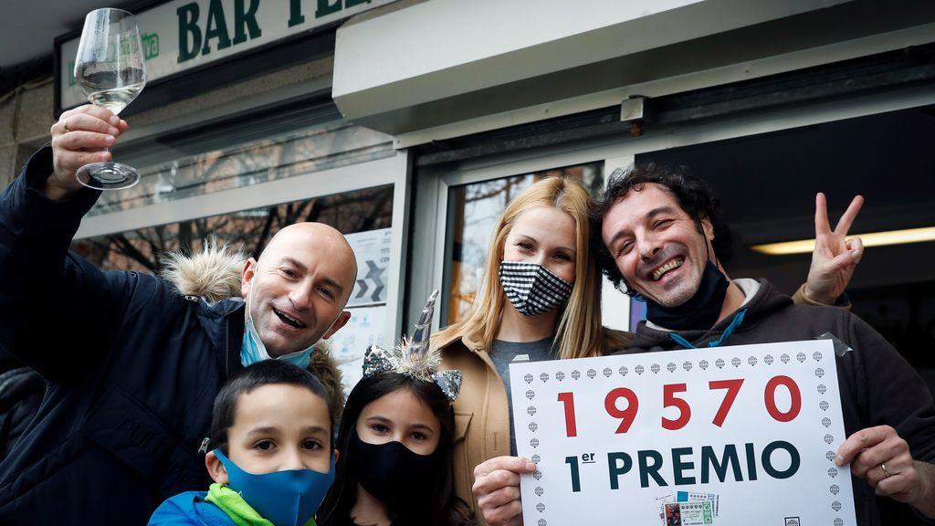 El 19570, premiado con 200.000 euros al décimo en el Sorteo del Niño 2021