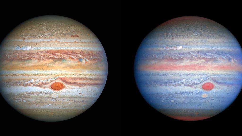 Parte meteorológico de Júpiter