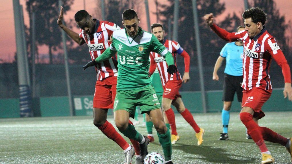 El Atlético naufraga en Cornellá y queda eliminado de la Copa del Rey (1-0)