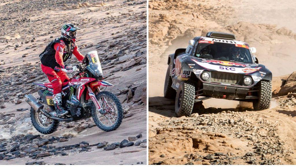 Barreda se lleva la cuarta etapa del Dakar y Carlos Sainz sigue cediendo tiempo