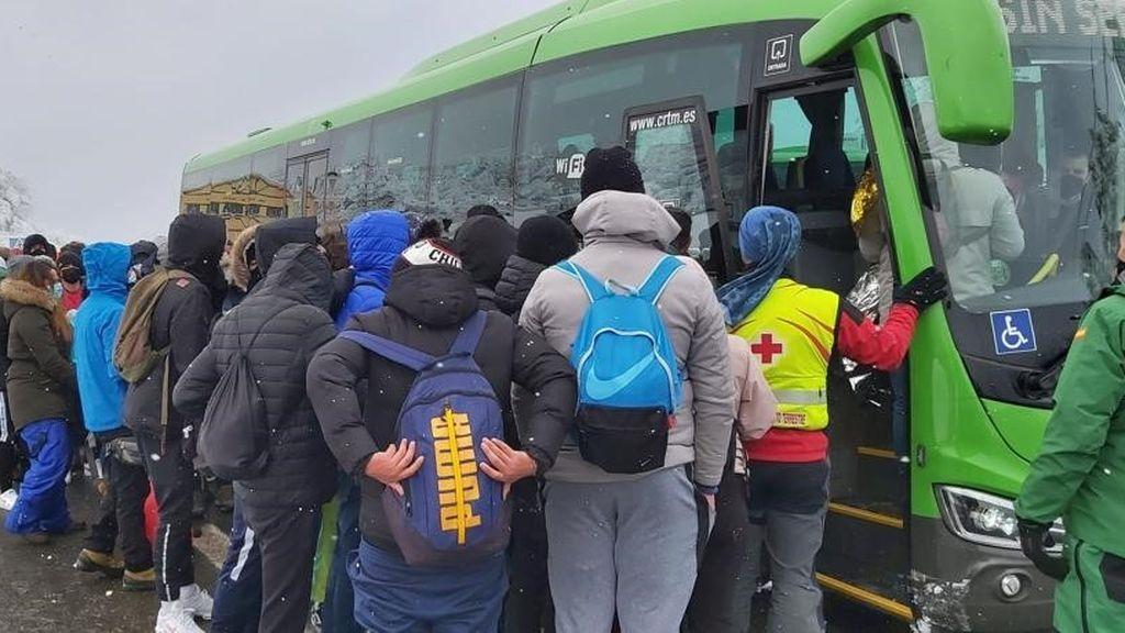 La Guardia Civil corta los accesos a Navacerrada por sexto día consecutivo