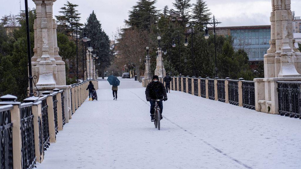 España amanece el Día de Reyes con alerta de frío o nieve excepto Canarias