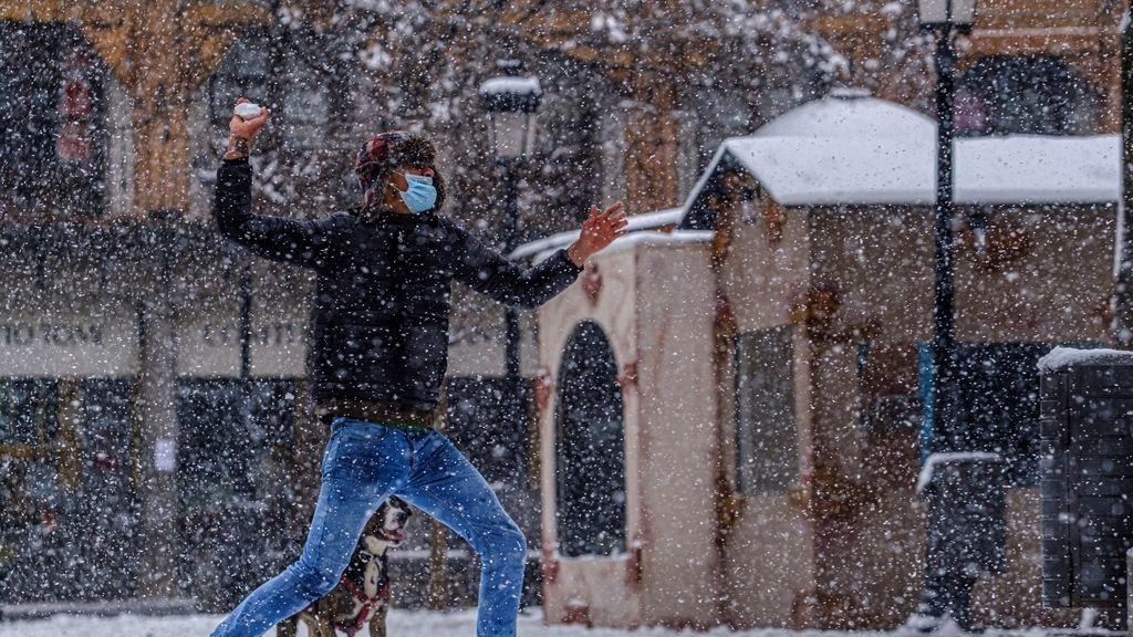 Las mejores imágenes de la borrasca 'Filomena': España, cubierta de nieve