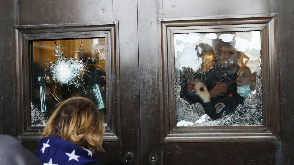 Las imágenes del asalto al Capitolio de Estados Unidos
