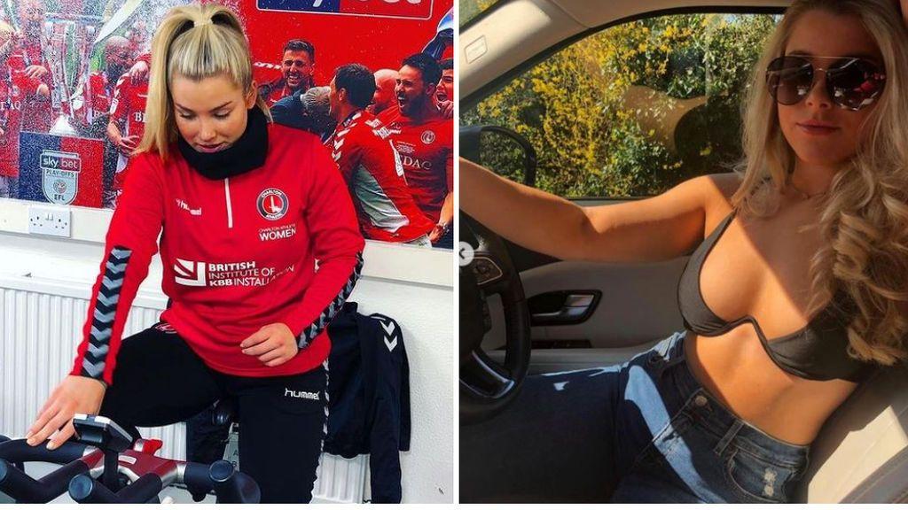 Madelene Wright, exjugadora del Charlton, se pasa a OnlyFans después de que su club decidiera despedirle