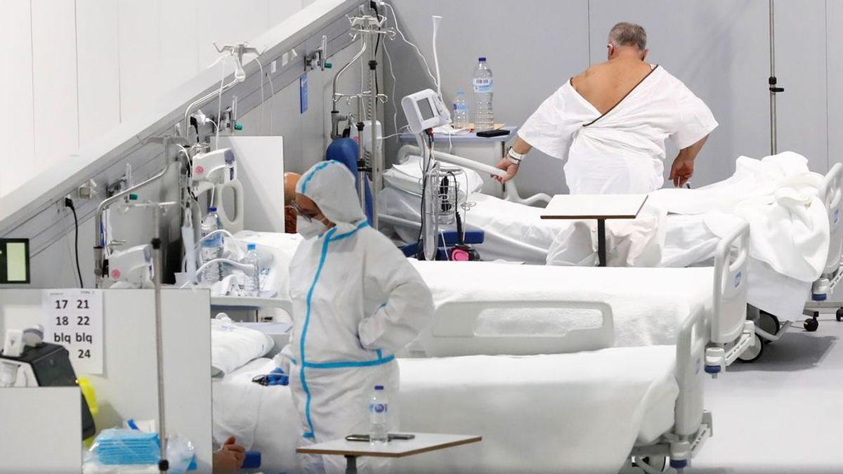 El Enfermera Isabel Zendal ya es el hospital madrileño con más pacientes covid