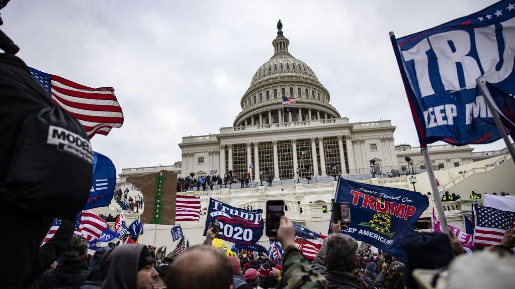 Así te hemos contado el asalto al Capitolio de Estados Unidos