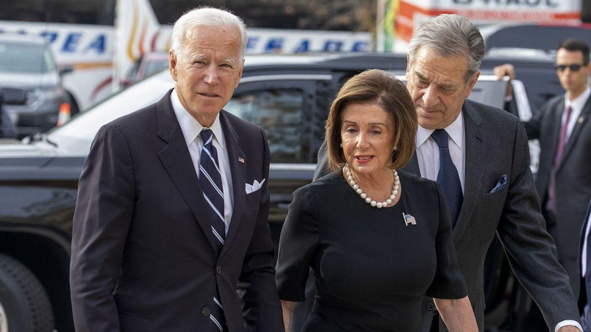 """Biden llama """"terroristas"""" e """"insurrectos"""" a los partidarios de Trump y Pelosi pide invocar la 25ª enmienda"""