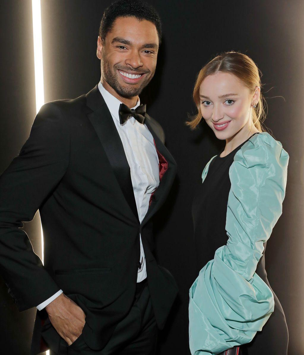 La pareja protagonista de 'Los Bridgerton'