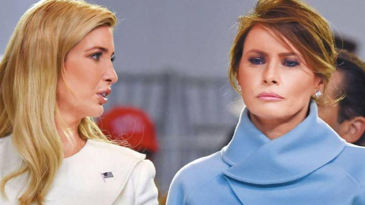 Ivanka Trump elogia a los patriotas asaltantes pero borra el tuit y la jefa de personal de Melania, dimite