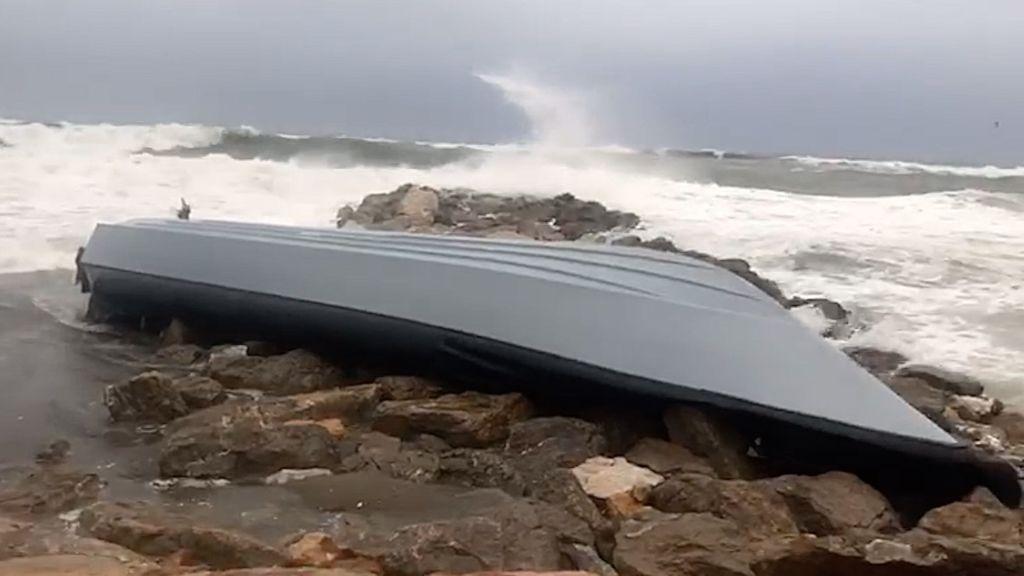 Narcotemporal: Filomena arroja a la costas del Estrecho tres narcolanchas que no han podido capear el temporal