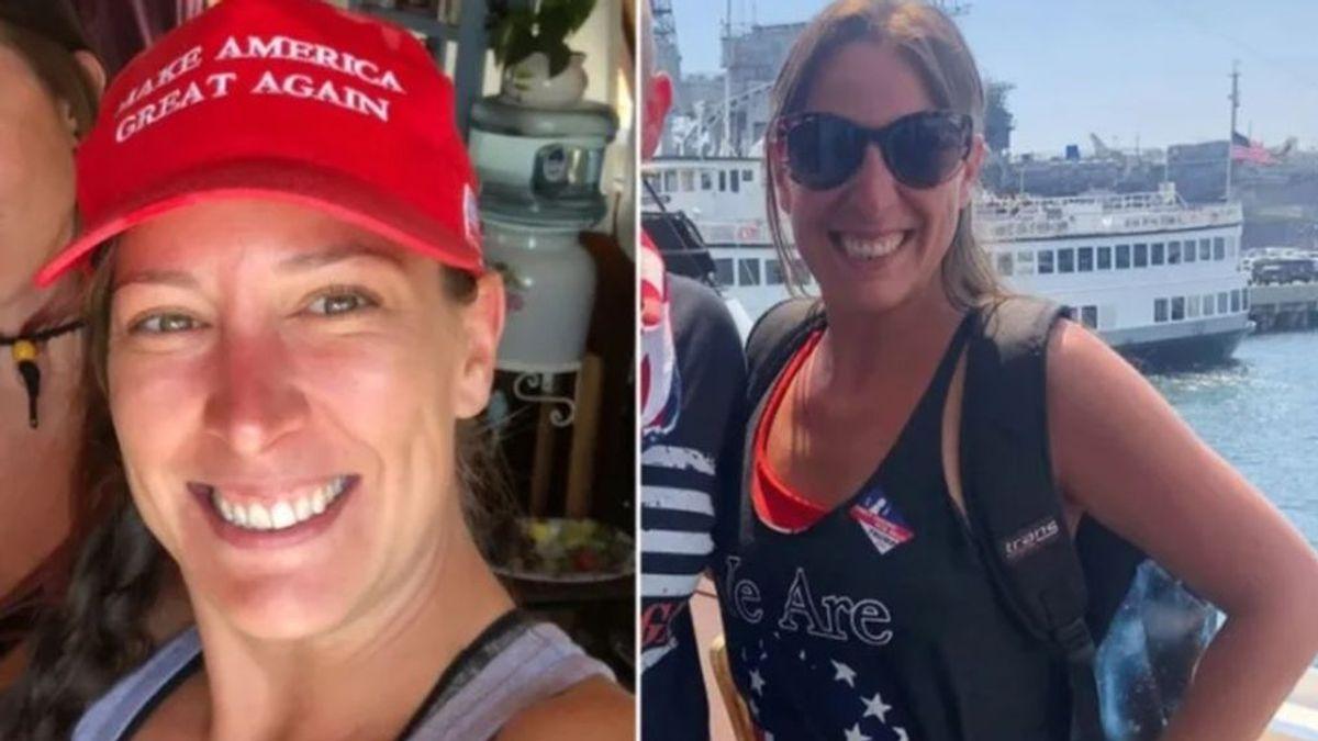 "Ashli Babbitt, una veterana de la Fuerza Aérea, ""gran patriota"" y seguidora de Trump"