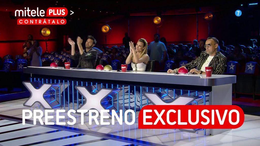 ¡Adelántate y vive el preestreno de la nueva temporada de 'Got Talent' en mitele PLUS!