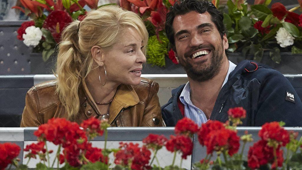 Belén Rueda con su pareja anterior, Francis Malfatto