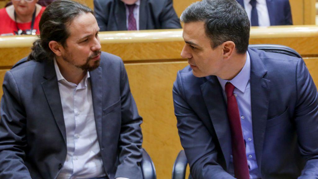 Aciertos y errores de Pedro Sánchez y Pablo Iglesias en 2020