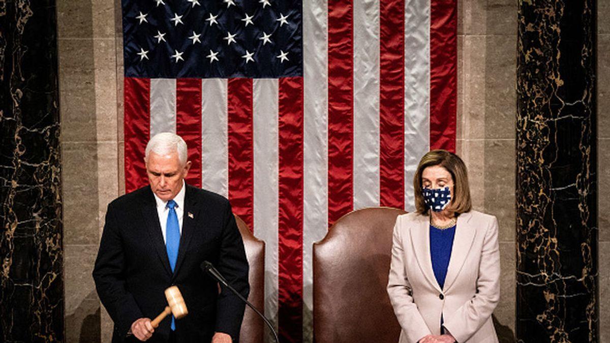 El Congreso certifica el resultado del Colegio Electoral en EEUU