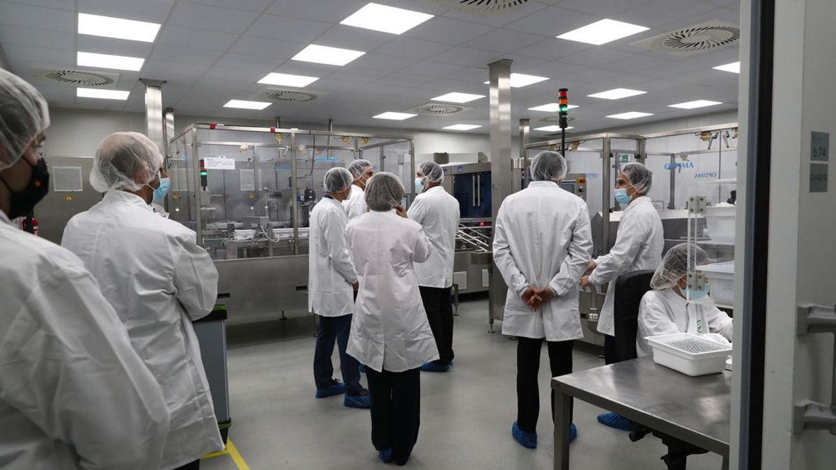 Todo listo en la empresa española Rovi para producir la vacuna Moderna