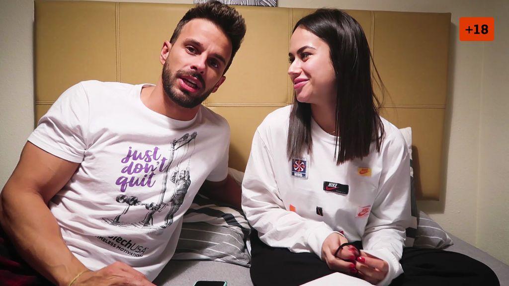 Cristian Atm sorprende a Alba con sus primeras conversaciones antes de ser pareja (1/2)