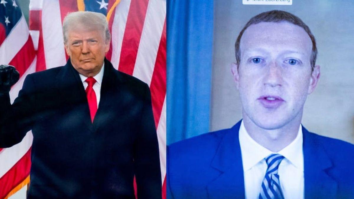 Mark Zuckerberg declara la guerra a Trump y lo bloquea de facebook e instagram hasta el 20 de enero