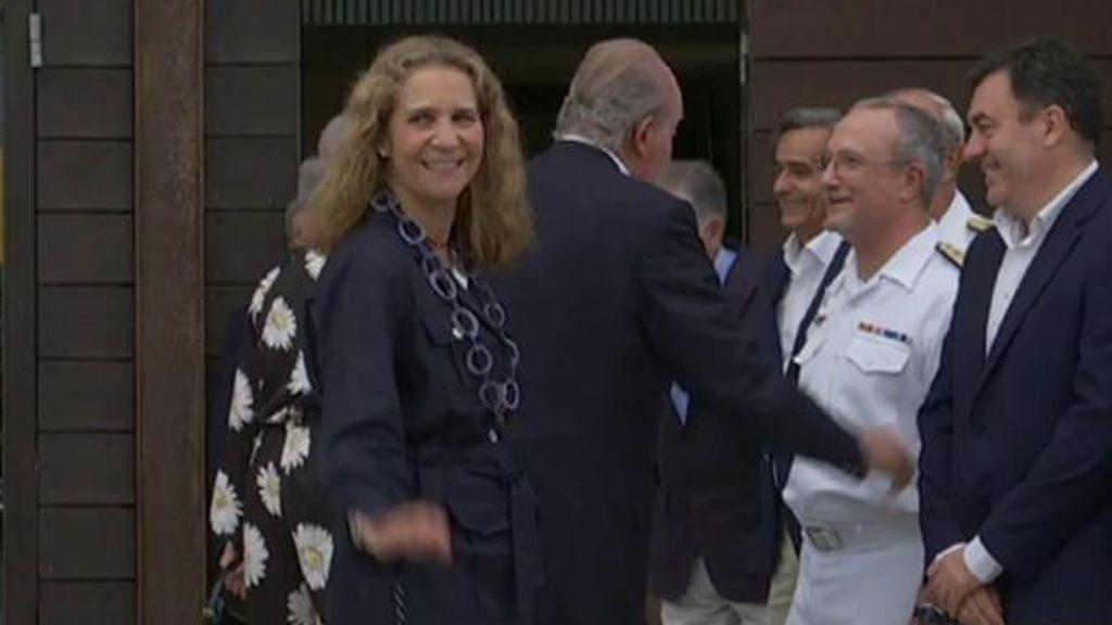 El rey emérito ha pasado su cumpleaños junto a sus hijas Elena y Cristina en Abu Dabi, según Pepe del Real