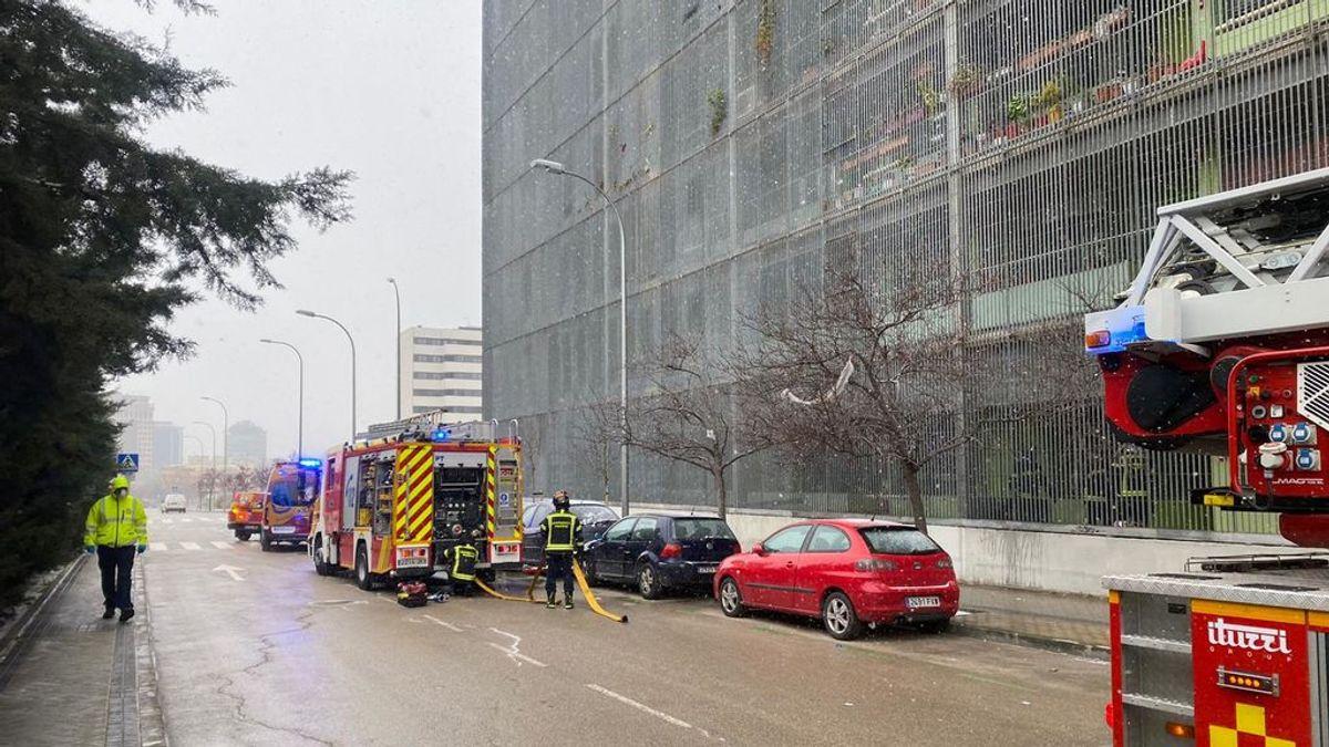 Muere un hombre de 70 años en el incendio de su casa en Madrid
