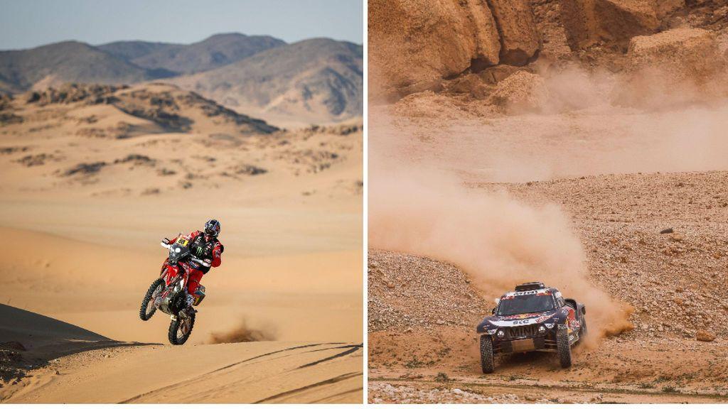 Día grande para los españoles en el Dakar: Joan Barreda gana en motos, y Carlos Sainz en coches