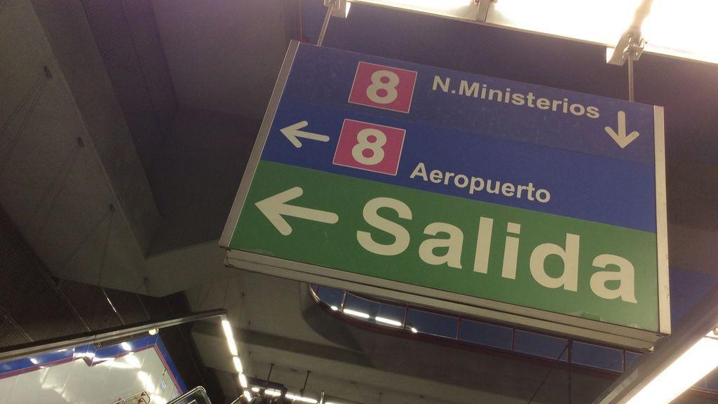 La línea 8 de Metro de Madrid estará abierta toda la noche para garantizar la movilidad con Barajas