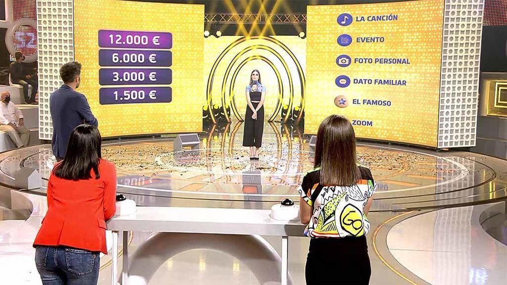 Ronda final con maquillaje especial: el homenaje de Nuria a 'El concurso del año' y a Dani Martínez