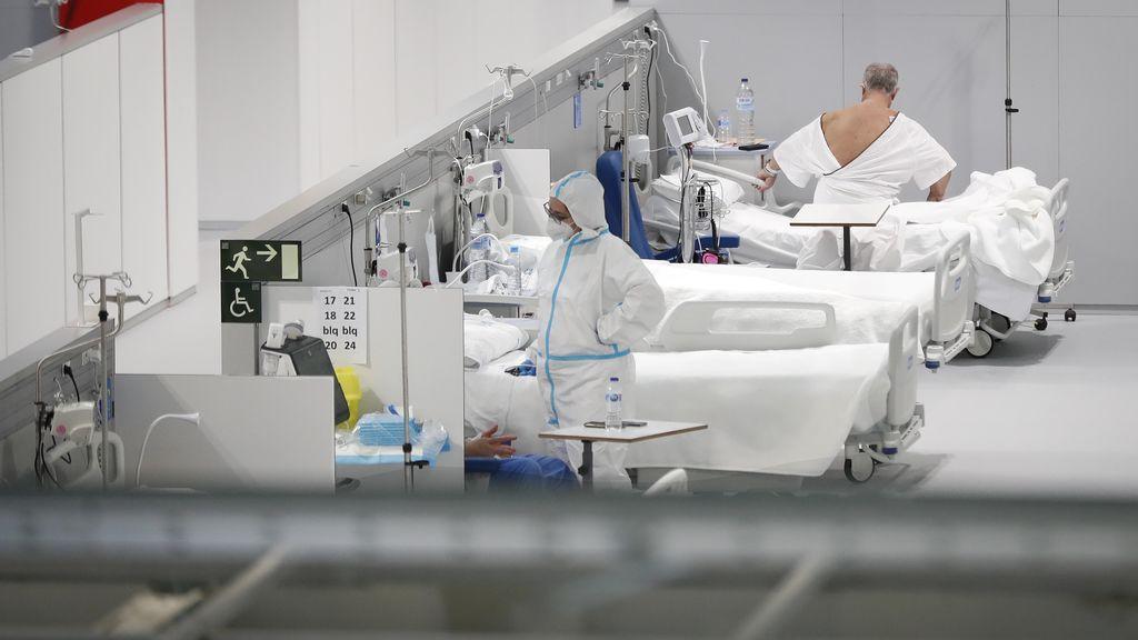 El Zendal es con 161 ingresados el hospital de Madrid con más pacientes de coronavirus