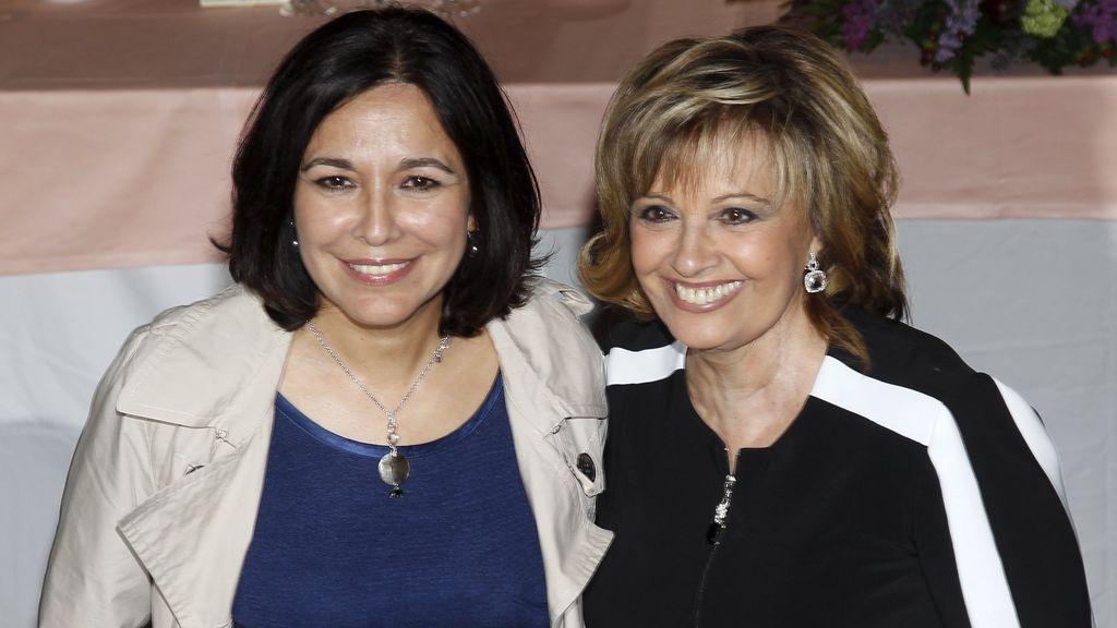 Isabel Gemio y María Teresa Campos, en una imagen de archivo