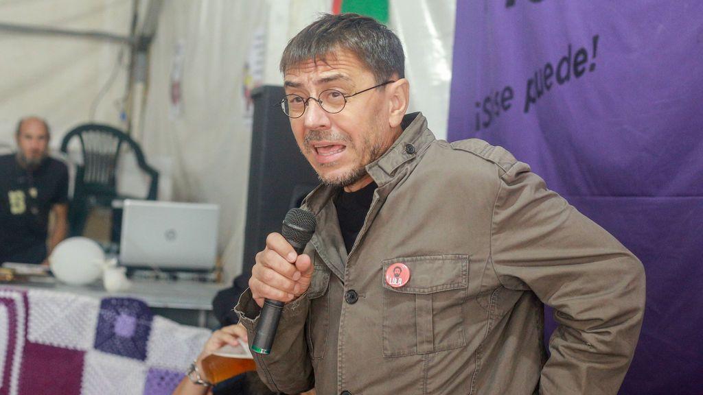 Monedero, citado como investigado por relacionar a Vox con el Nazismo
