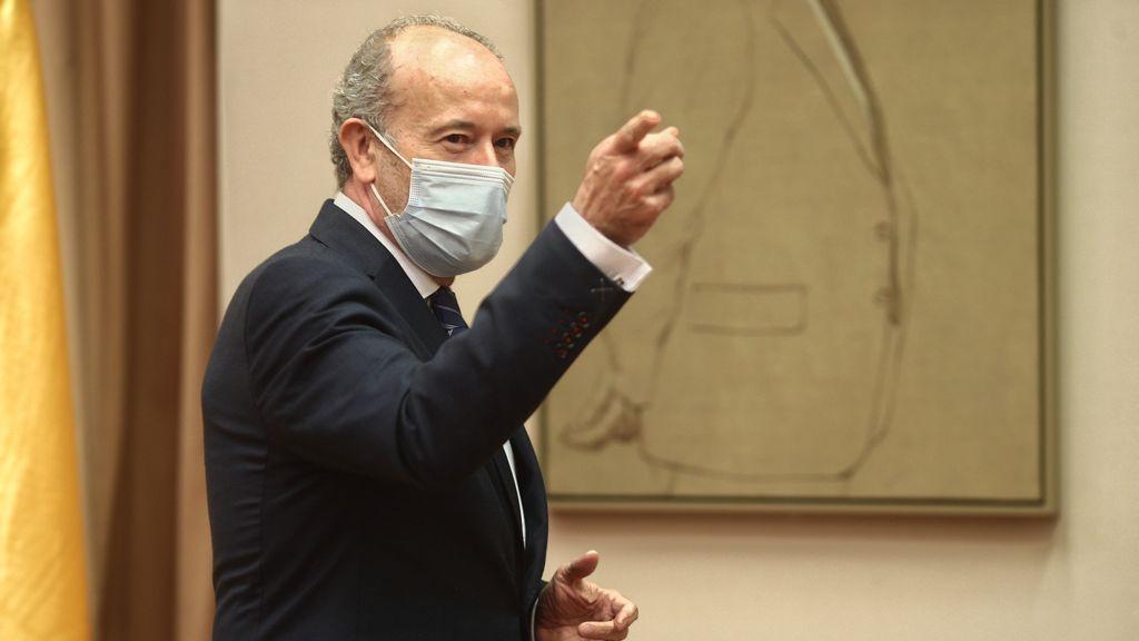 """Campo insiste en que el acuerdo con el PP sobre el CGPJ está hecho: """"Cada día espero que suene el teléfono"""""""
