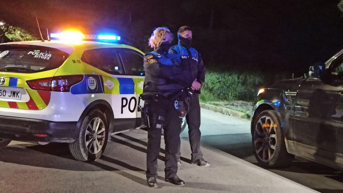 Interceptan un coche conducido por un niño de 9 años en Sitges (Barcelona)